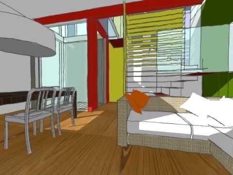 Progetto di Una abitazione unifamiliare nel bosco 2010.mov
