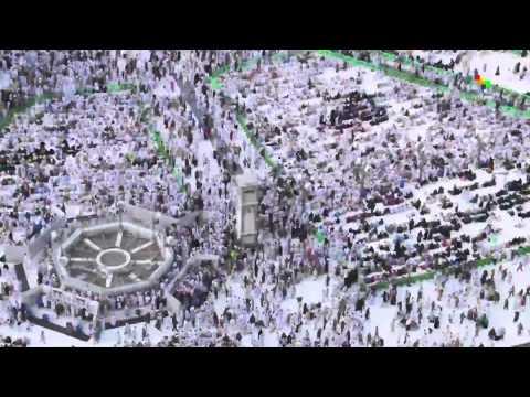 Millions in Muslim pilgrimage in Mecca