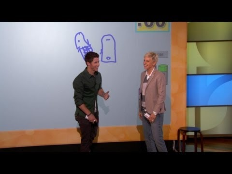 Pictionary with Jane Lynch and the Jonas Brothers! Music Videos