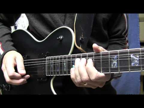 Rock Guitar Solo Lesson