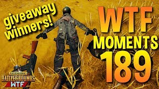 PUBG Funny WTF Moments Highlights Ep 189 (playerunknown's battlegrounds Plays)