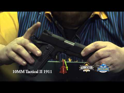 SHOT Show 2013: Rock Island Armory - 10MM Tactical II 1911