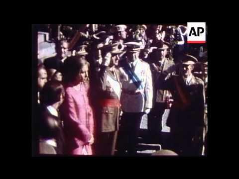 General Franco Funeral, King Juan Carlos, Africa