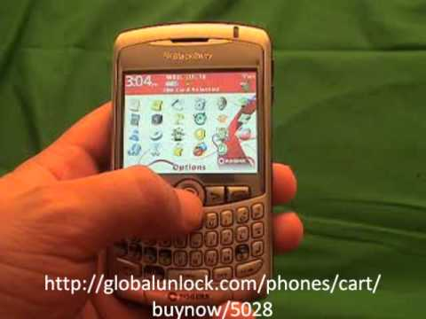 Easy Way To Unlock China Mobile Blackberry 8310 Curve