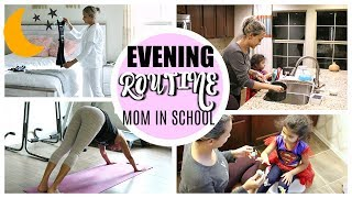 EVENING ROUTINE OF A MAMA IN SCHOOL | FULL NIGHT TIME ROUTINE 2019