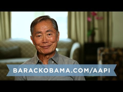 "George Takei: ""We've got to be actively involved in the electoral process."""