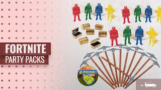 Fortnite Party Packs [2018 Best Sellers]: Battle Mode Gamer Party Favors for 12 - Pickaxe Pencils