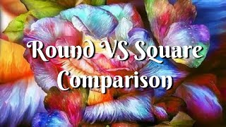 Round vs Square - The Final Comparison - POST REVIEW - Ioada Diamond Painting