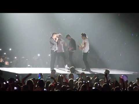 One Direction - Sexy and I know it + air guitar solos (Twitter questions) Oslo, Norway 07.05.13