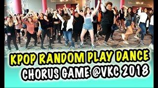 [VANCOUVER KPOP CON 2018] -- KPOP RANDOM PLAY DANCE CHORUS GAME [YOURS TRULY]