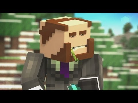 Minecraft Animation: Diamond Delivery Roller Coaster!