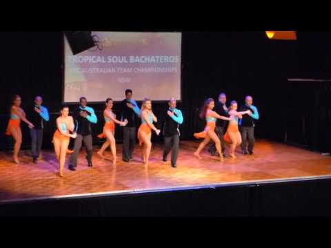 2016 Sydney International Bachata Festival - Tropical Soul Bachateros
