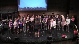 Turning Around for Me (Vashawn Mitchell) - The Michigan Gospel Chorale