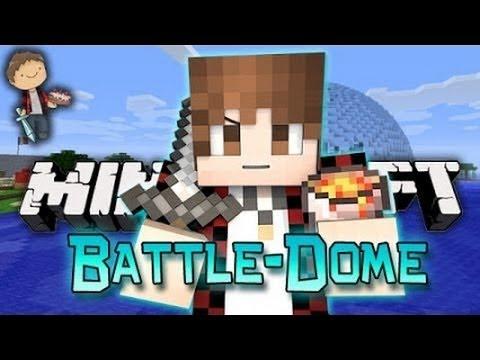 Minecraft: BATTLE-DOME w/Mitch & Friends - EPIC SPAWN!