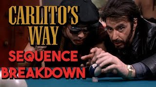 Carlito's Way - Breaking Down The Pool Hall Sequence