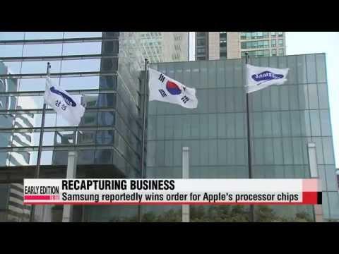 Samsung reportedly wins Apple′s processor chip order   삼성, A9 프로세서칩 애플에 공급할 것으로
