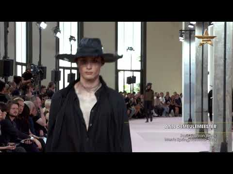 ANN DEMEULEMEESTER Paris Fashion Week Men's Spring/Summer 2019