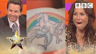 Mark Wahlberg & Minnie Driver on terrible tattoo fails 😂 | The Graham Norton Show - BBC