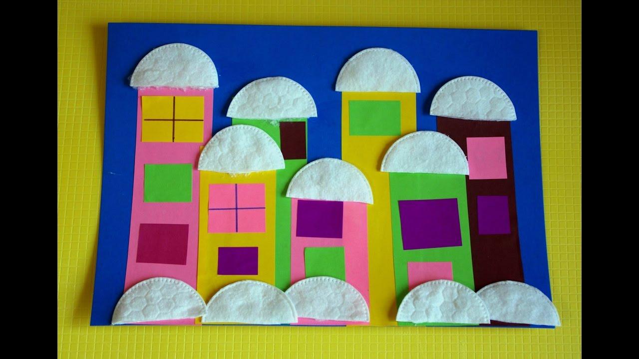 Поделки в детский садик из бумаги 14