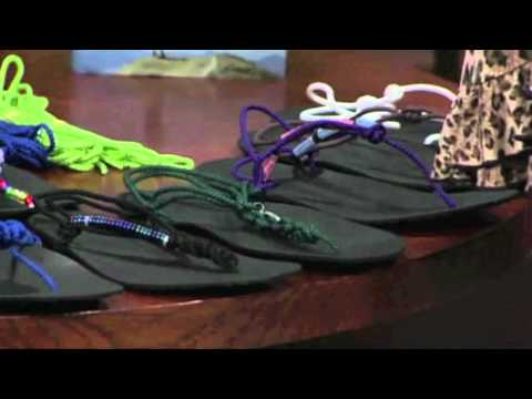 Barefoot Running Shoes - Tarahumara Huaraches Sandals  - Invisible Shoes