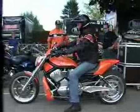 Harley Davidson V-Rod performance