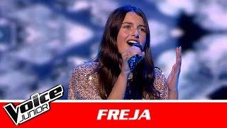 "Freja | ""Love On The Brain"" af Rihanna | Semifinale | Voice Junior Danmark 2016"