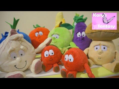Витаминный десант: игрушки овощи против фруктов Vitamin troopers: toys fruits vs vegetables