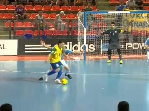 Futsal - Brasil 3 x 2 Argentina - Quartas de Final Mundial da Tailândia 2012
