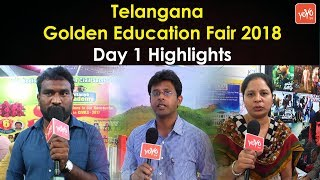 Telangana Golden Education Fair 2018 Day 1 Highlights @ Nizam College Grounds