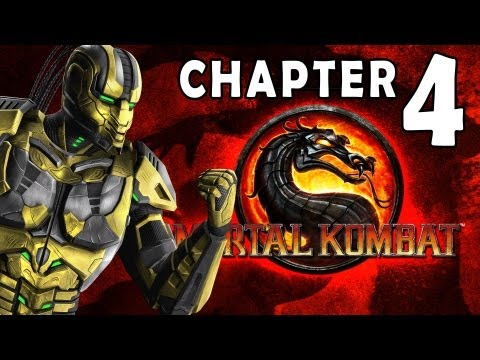 Mortal Kombat 9 - Story Mode - Chapter 04: Cyrax 1080P Gameplay / Walkthrough
