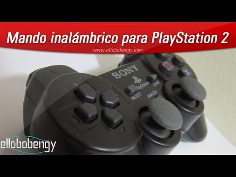 Mando inalámbrico para PlayStation 2 (PS2). Unboxing en español!