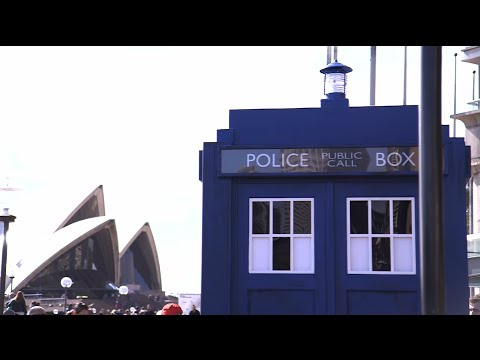 Sydney shows its love for Doctor Who! - Doctor Who World Tour - #DWWorldTour