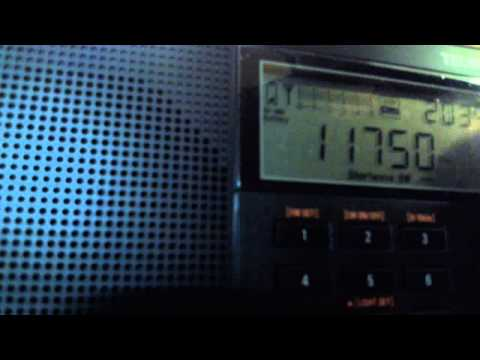 11750 Khz Radio Taiwan International Russian 17:00 - 18:00 UTC 09.03.2015