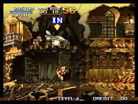 Metal Slug - Super Vehicle-001 - Vizzed.com Play - User video