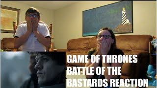 GAME OF THRONES BATTLE OF THE BASTARDS REACTION!!   LEXI & TANNER