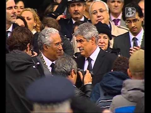 Adeus Eusébio: A Homenagem na Praça do Município