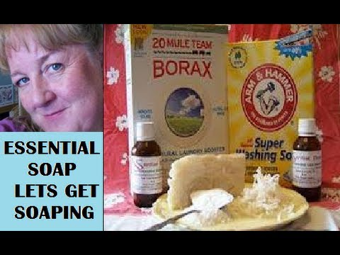 Essential Soap: How To Make homemade Laundry Detergent from Scratch, Making Lye Soap
