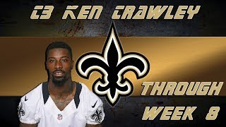 New Orleans Saints Film Study: CB Ken Crawley At The 2017 Midway Point