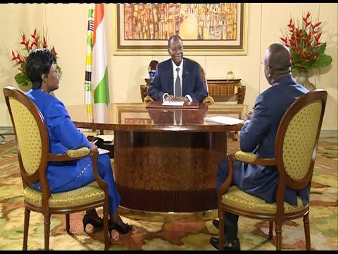 Entretien avec le Président Alassane Ouattara du 7 Août 2014