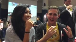 Wah!Banana's Audrey and Fish reveal their most bizarre habits at YouTube FanFest 2015
