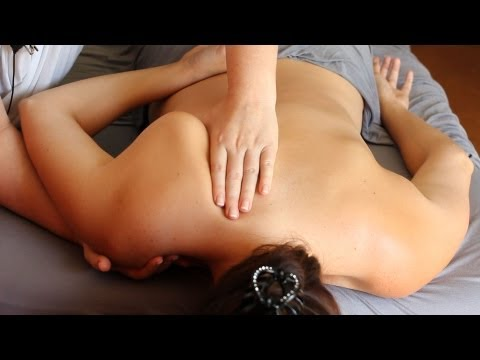 How To Give A Shoulder Massage   Deep Massage