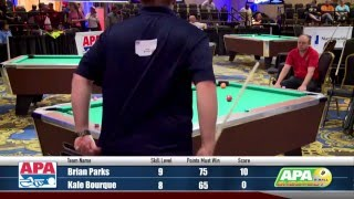 Finals - 9-Ball Shootout Championship - 2016 APA Poolplayer Championships
