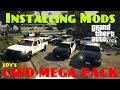 HOW TO INSTALL GTAV MODS Los Santos Police Department Mega Pack March 2018 mp3