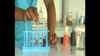 Lab preparation of hydrogen gas