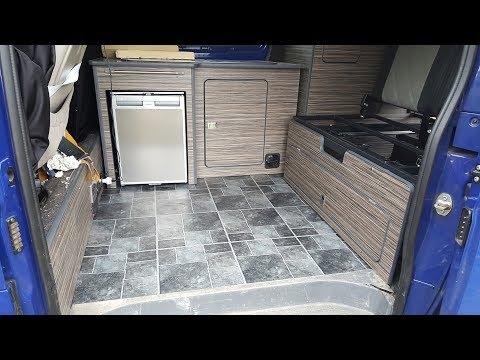 Camper Van Conversion: Heater & New Flooring / The Carpenter's Daughter