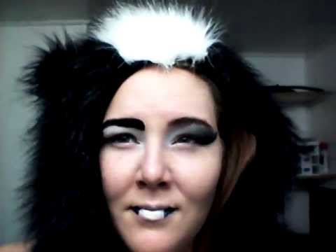 Skunk Face Makeup Fun With Skunk Makeup