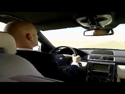 Maybach 62 S - на дороге в Дубаи