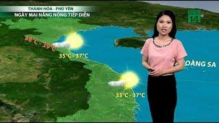 Thời tiết cuối ngày 29/04/2019: Tây Trung Bộ nắng nóng gay gắt với nhiệt chạm mức 38-39 độ | VTC14