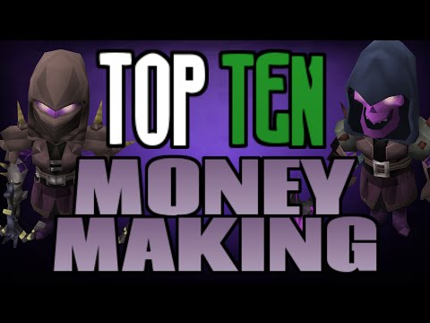 Top 10: Money Making Methods! [Runescape 2014]