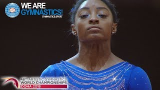 Artistic Worlds 2018 - Simone Biles vaults into the Code of Points - We are Gymnastics !